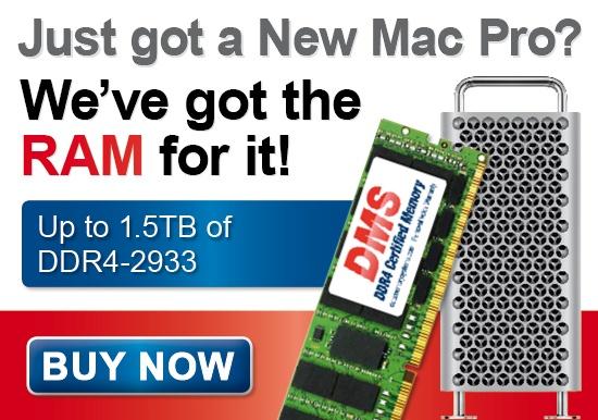 2020 Mac Pro RAM